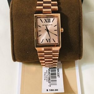 Michael Kors Rose Gold Tone Watch